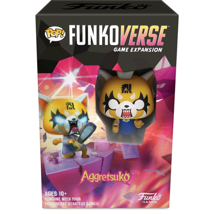 Funkoverse - Aggretsuko 100 1 -Pack Expandalone Strategy Board Game