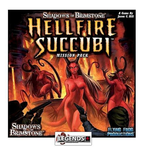 Shadows of Brimstone Hellfire Succubi
