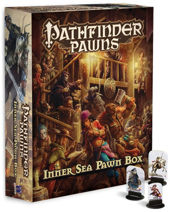 Pathfinder Accessories Inner Sea Pawn Box RPR $64