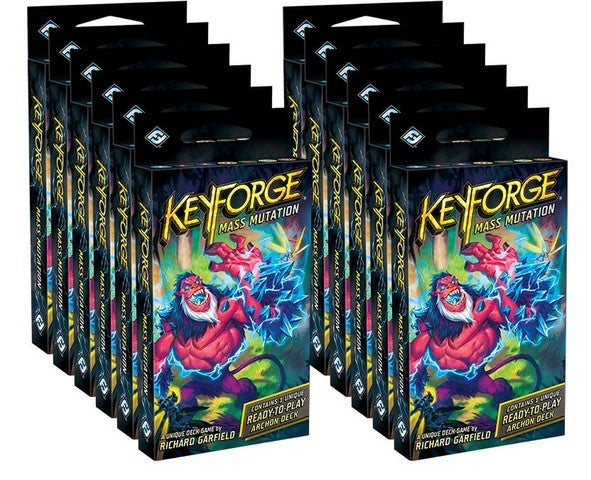 KeyForge Mass Mutation Archon Deck Display