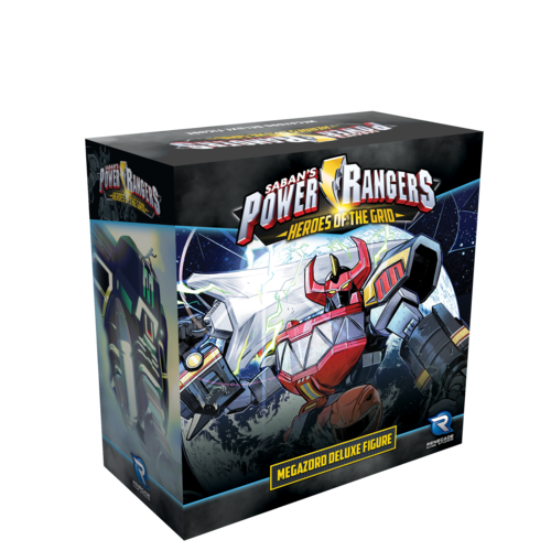 Power Rangers Heroes of the Grid Megazord Deluxe Figure