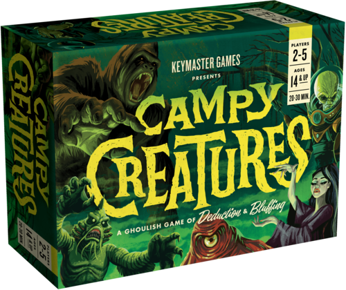 Campy Creatures 1st Edition
