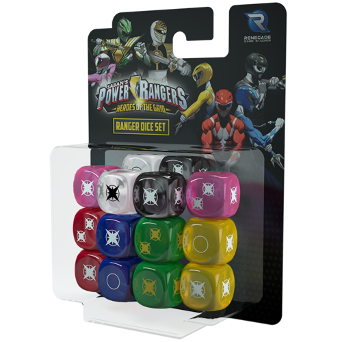 Power Rangers Heroes of the Grid Ranger Dice Set