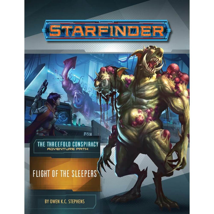 Starfinder RPG Adventure Path The Threefold Conspiracy #2 Flight of the Sleepers