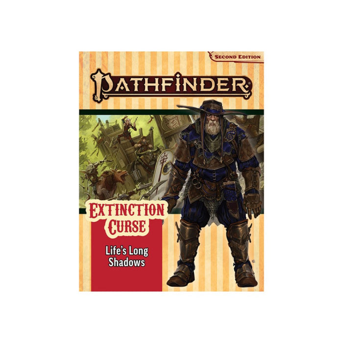 Pathfinder Second Edition Extinction Curse Adventure Path #3 Lifes Long Shadows
