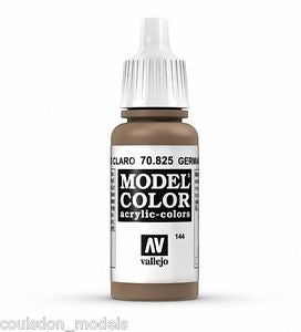 Vallejo Model Colour German Cam Pale Brown 17 ml