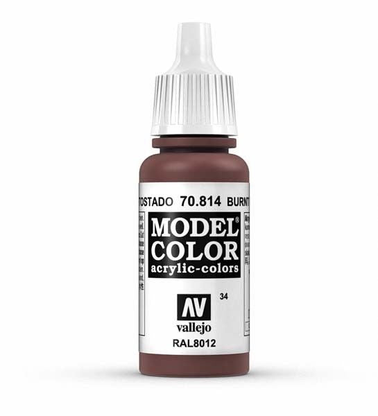 Vallejo Model Colour Umber Red 17 ml