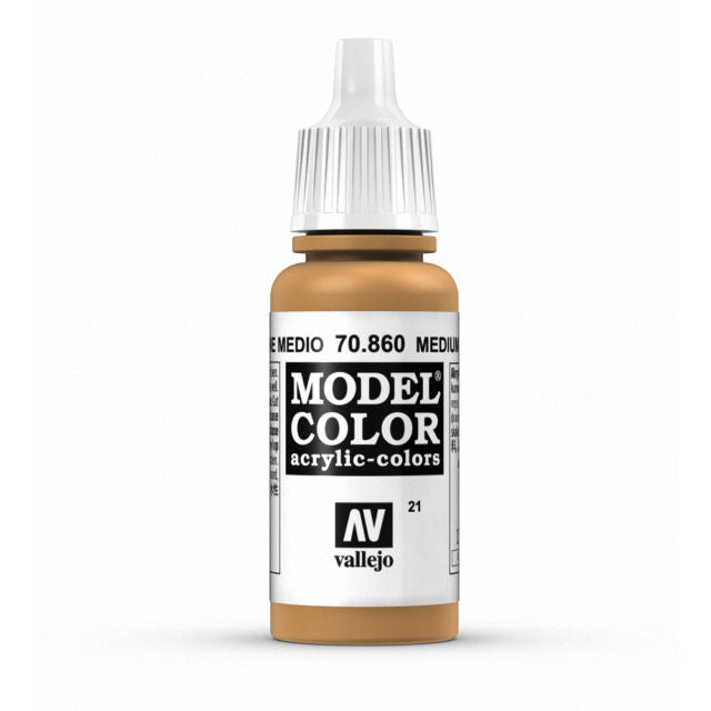 Vallejo Model Colour Medium Fleshtone 17 ml