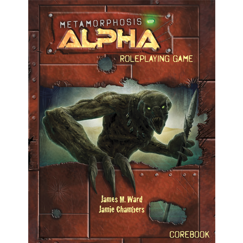 Metamorphosis Alpha Roleplaying Core Rules