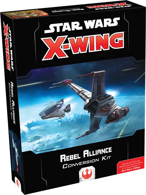 Star Wars X-Wing 2nd Edition Rebel Alliance Conversion Kit