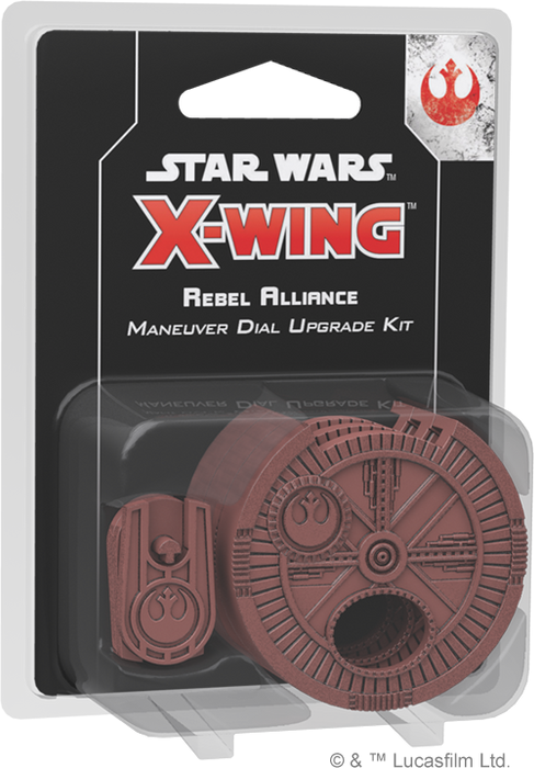Star Wars X-Wing 2nd Edition Rebel Alliance Maneuver Dial Upgrade Kit