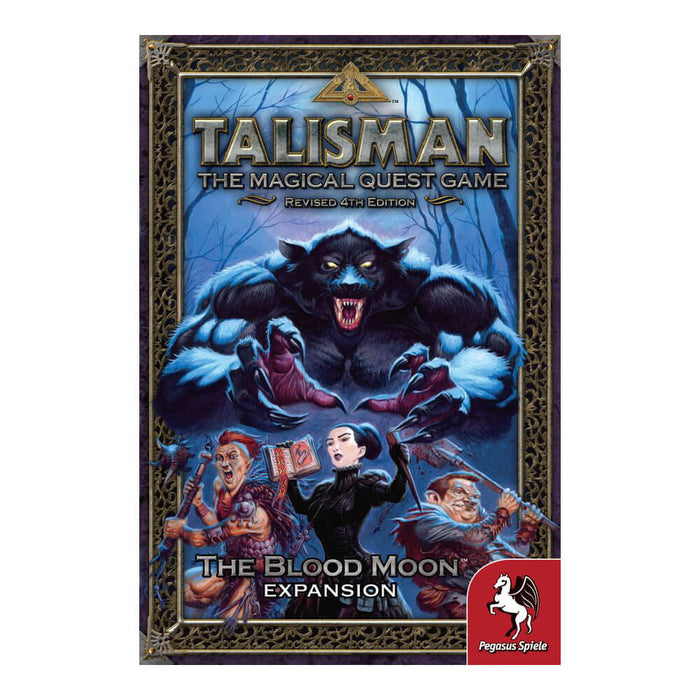 Talisman 4th Edition The Blood Moon Expansion