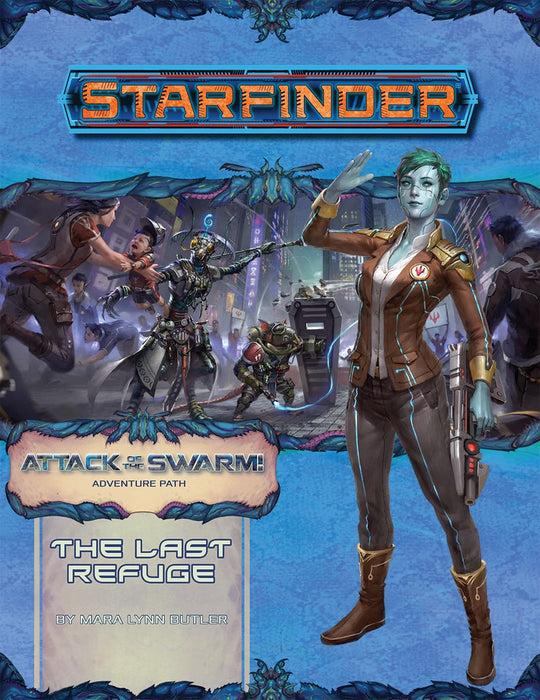 Starfinder RPG Adventure Path Attack of The Swarm #3 The Last Refuge