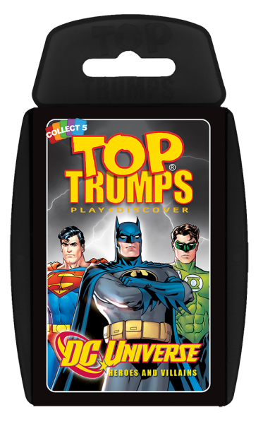 Top Trumps: DC Universe