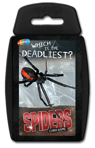 Top Trumps: Spiders