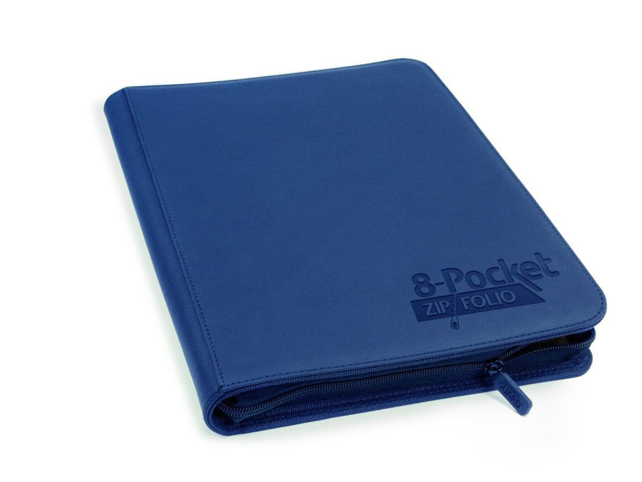 Ultimate Guard 8-Pocket ZipFolio XenoSkin Dark Blue Folder