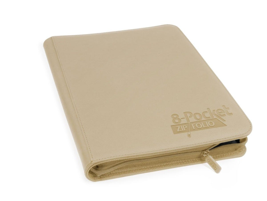Ultimate Guard 8-Pocket ZipFolio XenoSkin Sand Folder