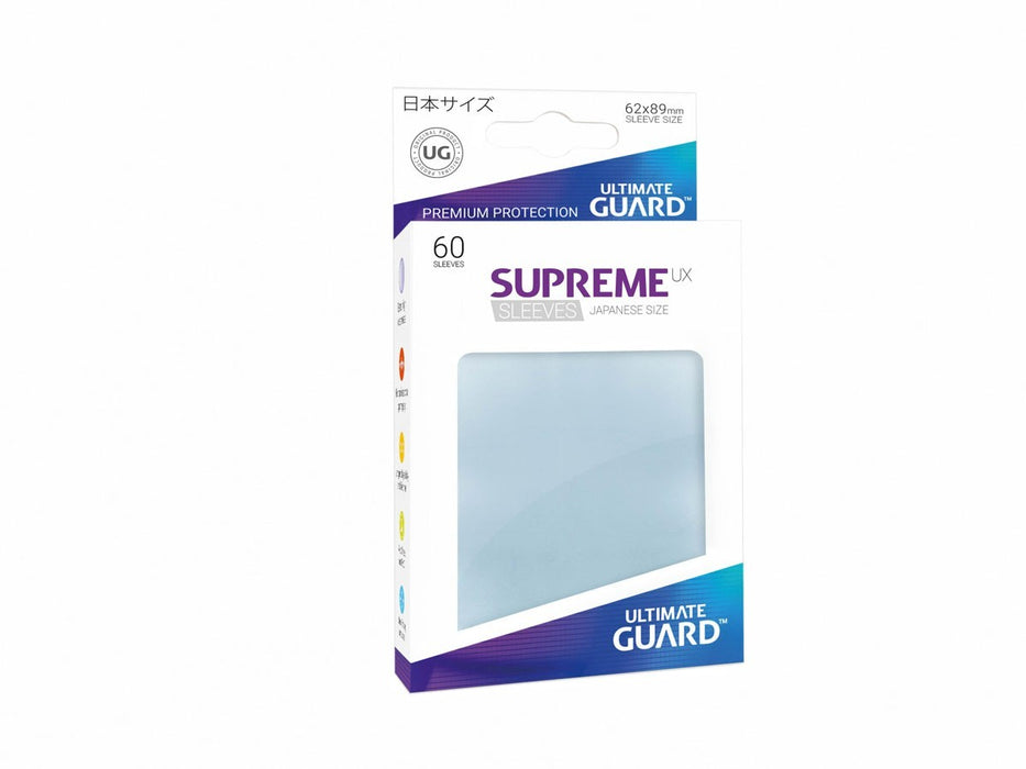 Ultimate Guard Supreme UX Sleeves Japanese Size Transparent (60)