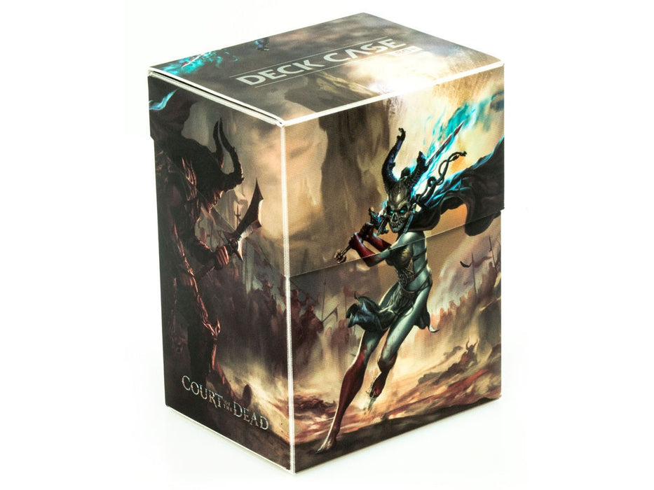 Ultimate Guard Court of the Dead 80+ Standard Size Deaths Valkyrie I Deck Box