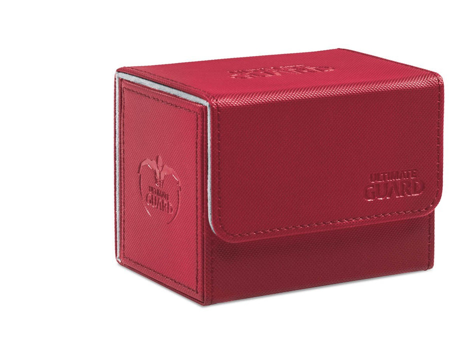 Ultimate Guard Sidewinder 80+ Standard Size Red Deck Box