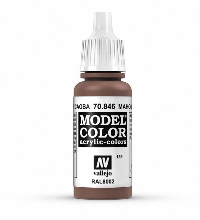 Vallejo Model Colour Mahogany Brown 17 ml