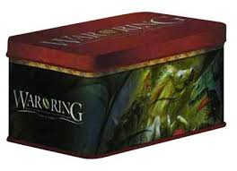 War of the Ring 2nd Edition Card Box and Sleeves Gandalf