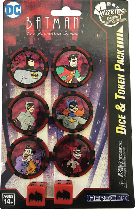 DC Comics Heroxlix Batman The Animated Series Dice and Token Pack