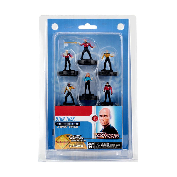 Star Trek HeroClix Away Team The Next Generation Fast Forces