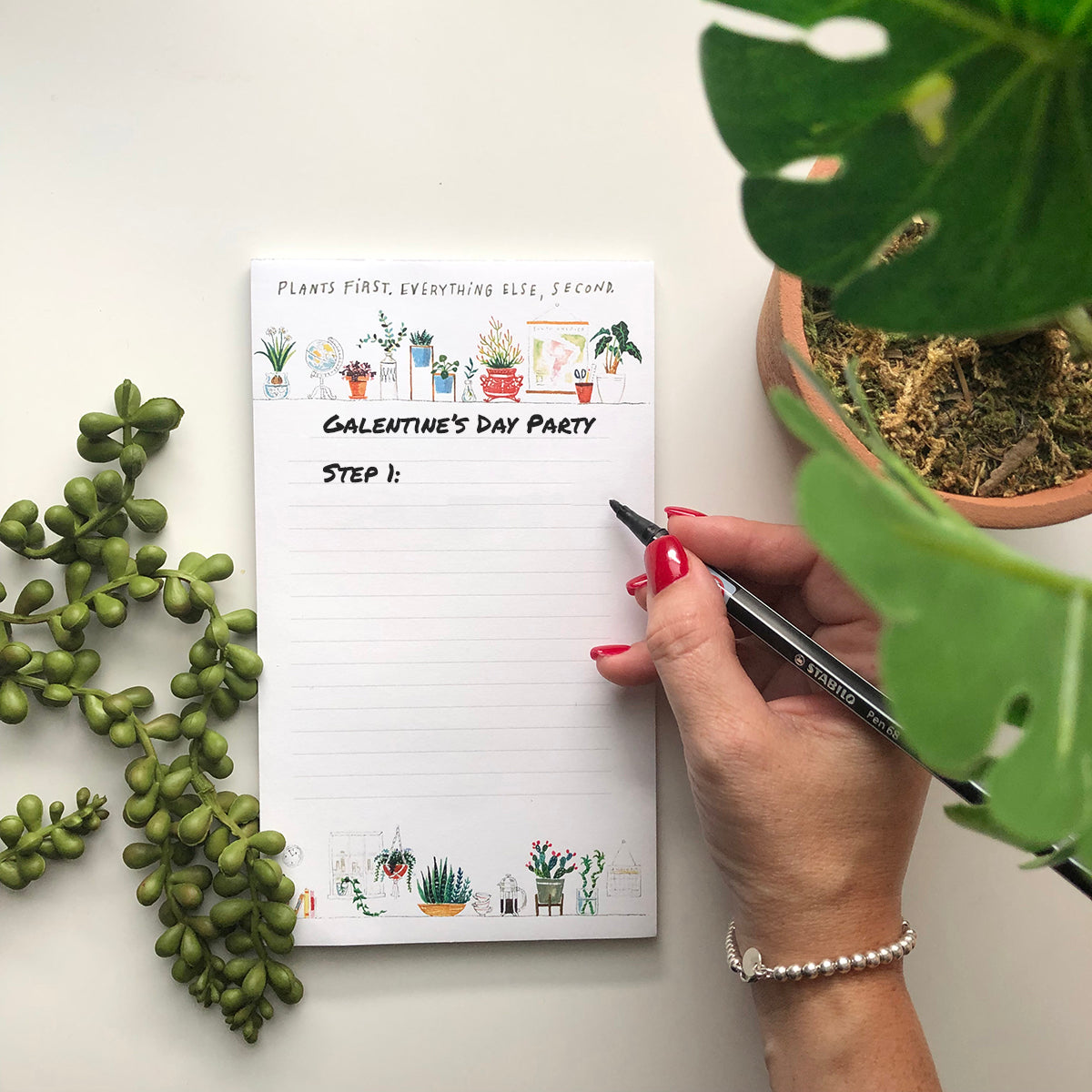 Plant Life Notepad