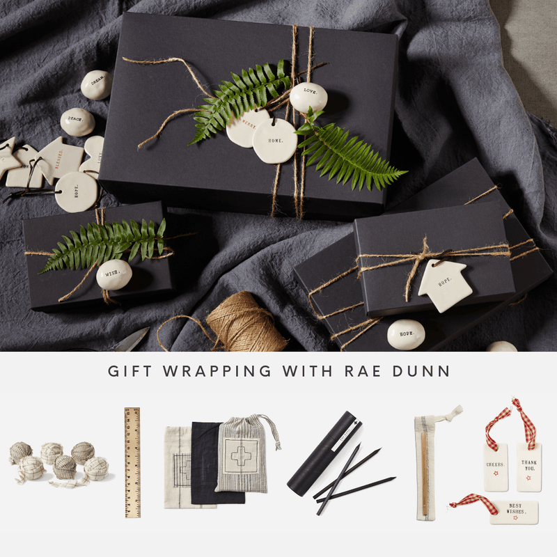 Gift Wrapping with Rae Dunn