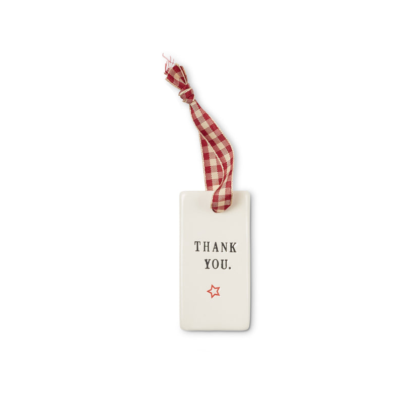 Classic Gift Tags, set of 3: Cheers, Best Wishes, Thank You