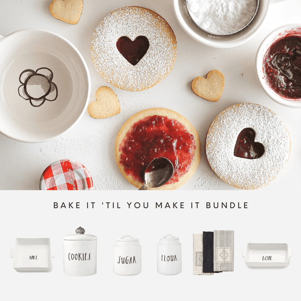 Rae Dunn Bake It 'Til You Make It Bundle