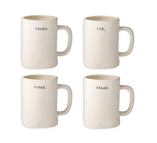 Chair Mugs, Set of 4