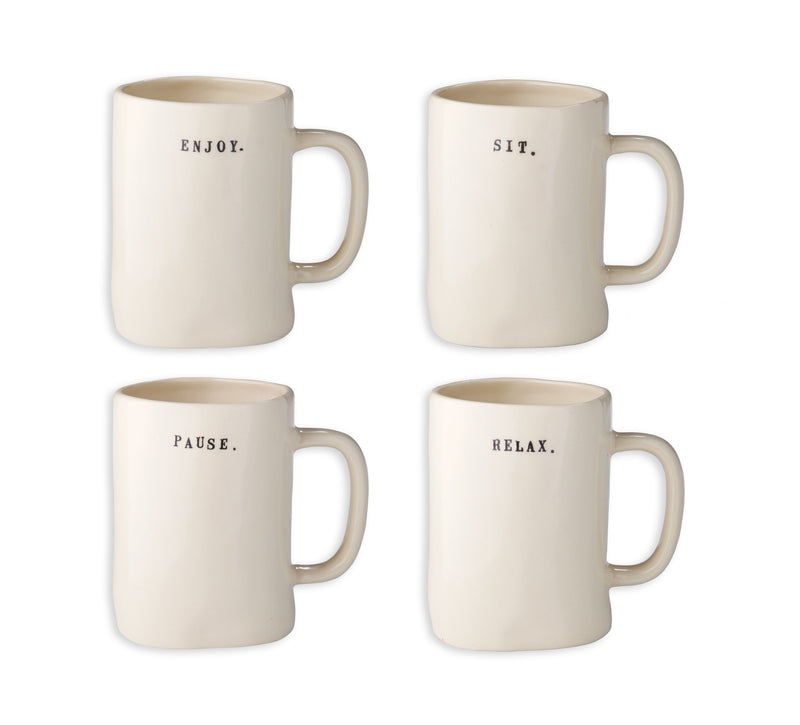 Chair Mugs (Set of 4)