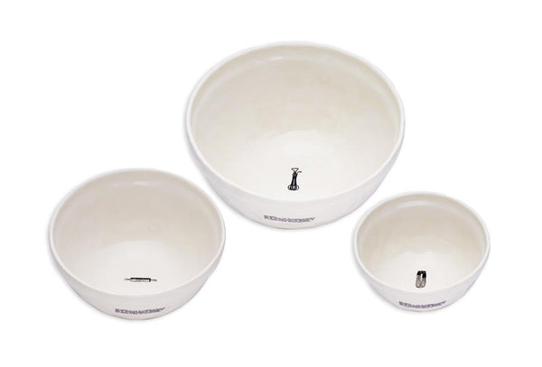 Kitchen Icon Mixing Bowls (Set of 3)