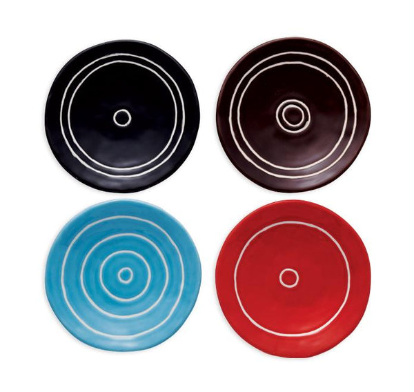 Circle Trinket Trays, Set of 4