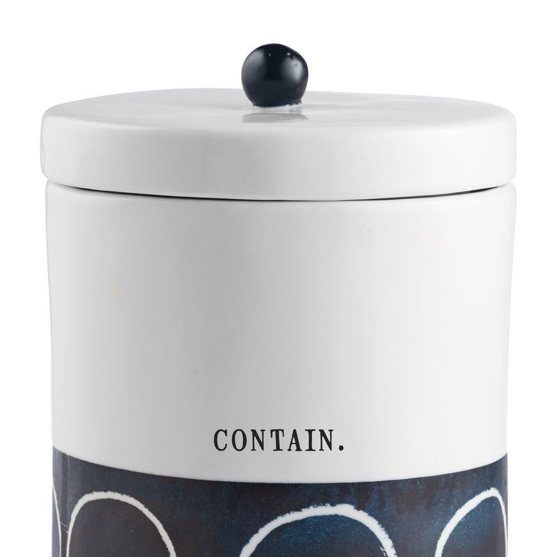 Indigo Dreams Canister, Large