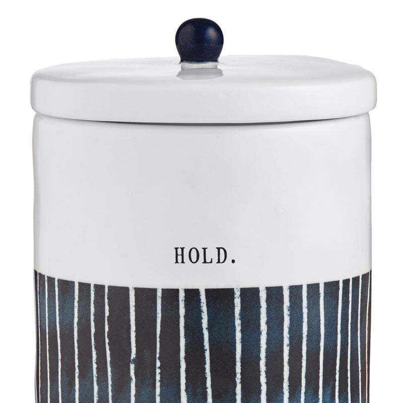Indigo Dreams Canister, Medium