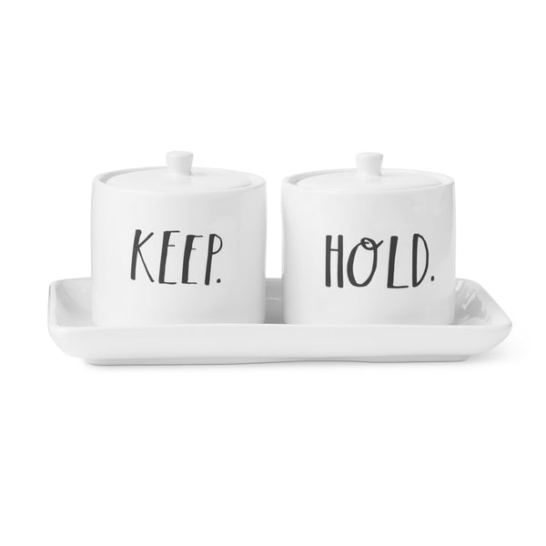 Stem Print KEEP + HOLD Vanity Set