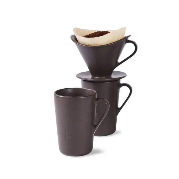 Icon Drip. Pour. Sip. Coffee System Espresso, Set of 4