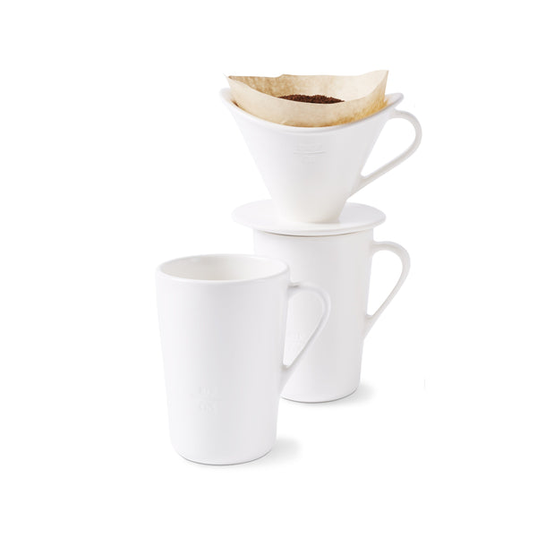 Icon Drip. Pour. Sip. Coffee System Foam, Set of 4