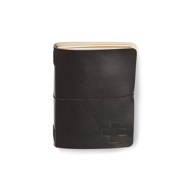 Icon Leather Artist Pocket Journal Black