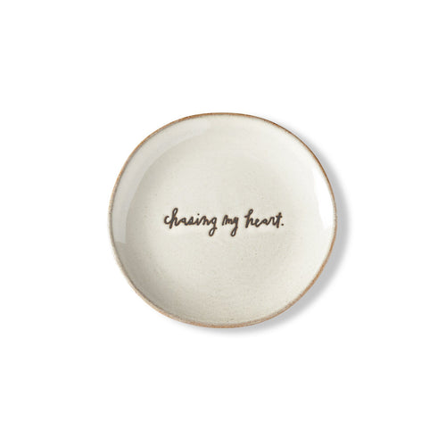 Sentiment Bread Plate, Set of 4