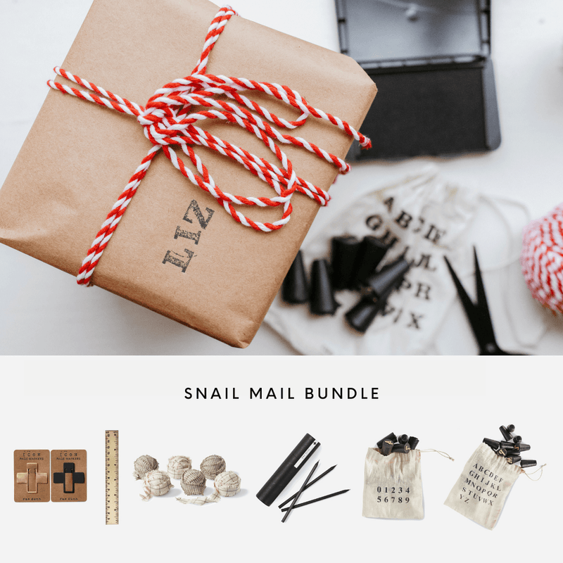 Snail Mail Stationery Bundle