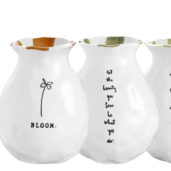 BLOOM Bud Vases, Set of 4