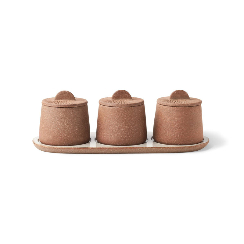 Canyon Decorative Spice Jars, Set of 3