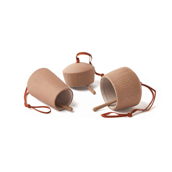 Canyon Clay Bells, Set of 3
