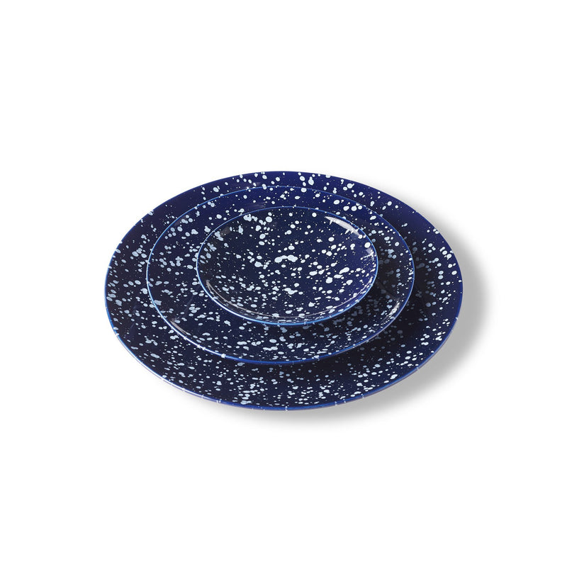 "Raindrop Plate 8"", Set of 4"