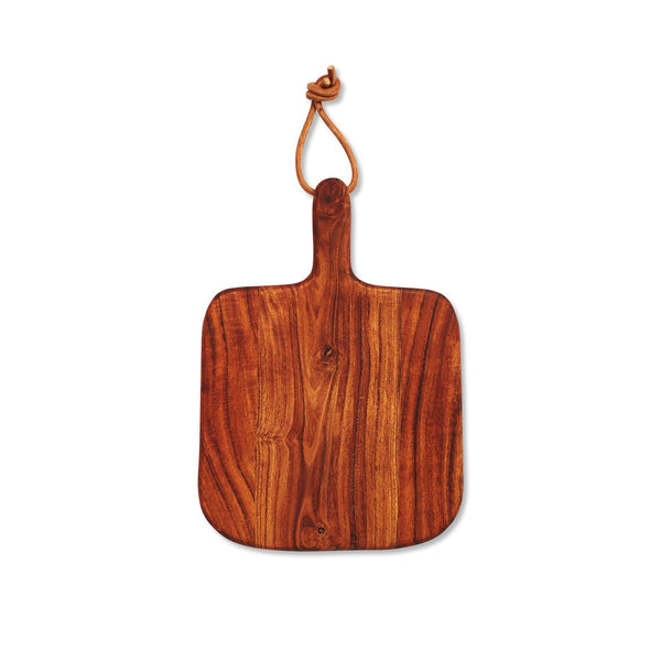 Wooden Serving Paddle Square Parties Serveware Gifts for Her