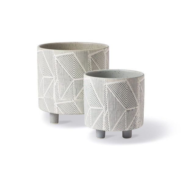 Geometric Panter Moss, Set of 2